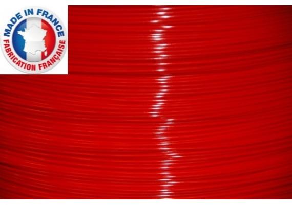 PLA rouge 3D filament Arianeplast  350g  fabriqué en France