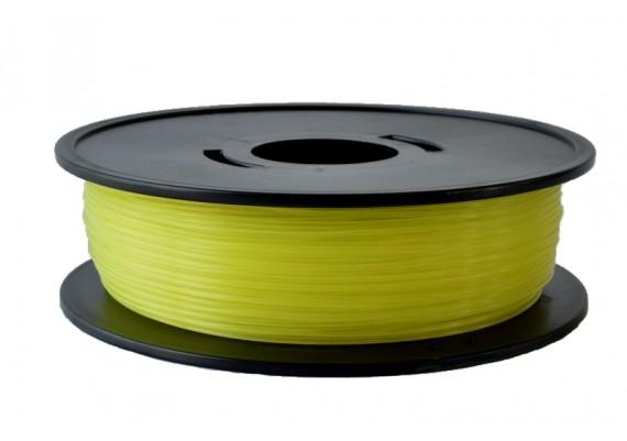 FPLAjauneT PLA Jaune translucide 3D filament Arianeplast 1kg fabriqué en France