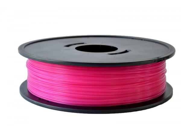 PLA Rose fushia translucide 3D filament Arianeplast 750g fabriqué en France