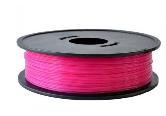 PLA Rose fushia translucide 3D filament Arianeplast 315g fabriqué en France