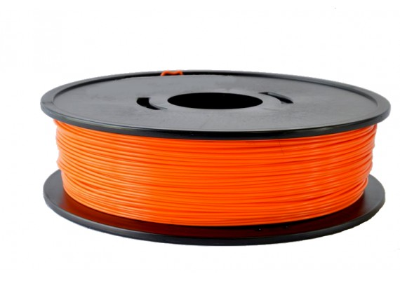 F-PLAOrange PLA Orange 350g fabriqué en France