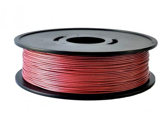 PLA Rouge métallisé 3D filament Arianeplast 315g fabriqué en France
