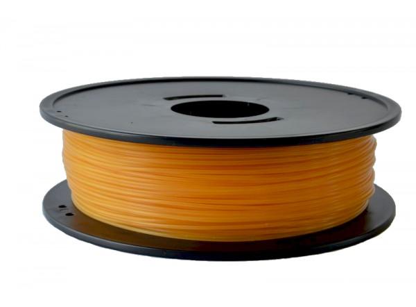 F-4043D-ocreJ PLA Ocre jaune 3D filament Arianeplast 1kg fabriqué en France