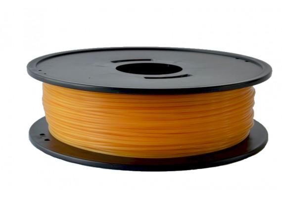 F-PLAOCREJ PLA Ocre jaune 3D filament Arianeplast 315g fabriqué en France