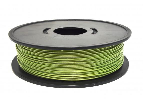 FPLAvertmetal 2.3kg PLA vert métallisé 3D filament Arianeplast fabriqué en France