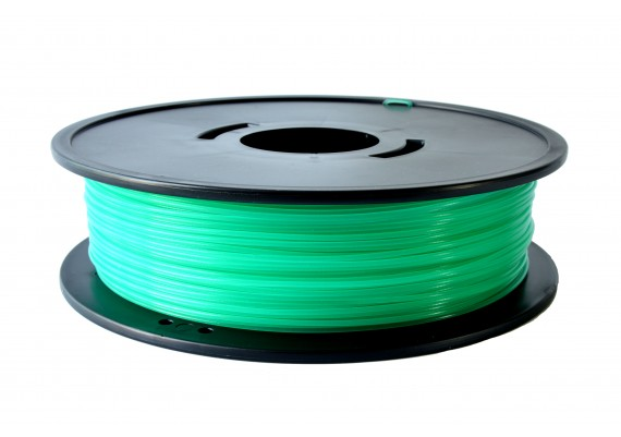 F-PLAVT PLA Vert translucide 3D filament Arianeplast fabriqué en France 2.3kg