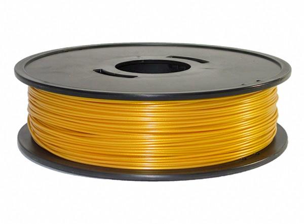 PLA or jaune 3D filament Arianeplast 750g fabriqué en France