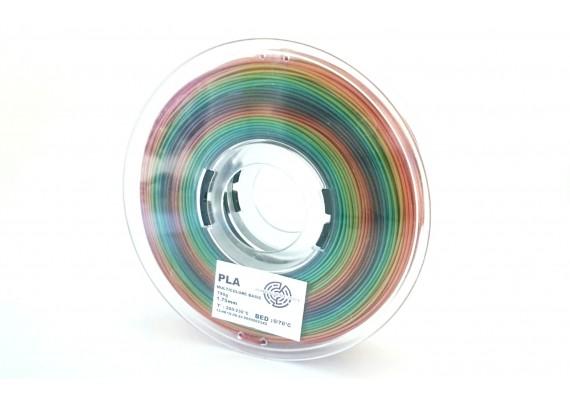 PLA Multicouleurs Basic 3D filament Arianeplast 750g fabriqué en France