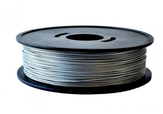 FPLAALU8kg Bobibne fil 3D grand format PLA Aluminium métallisé 3D filament Arianeplast 8kg fabriqué en France