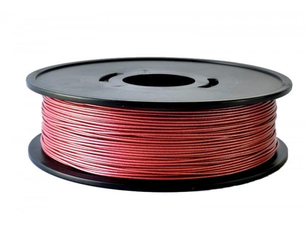 F-PLART8kg bobine fil PLA Rouge métallisé 3D filament Arianeplast 8kg fabriqué en France