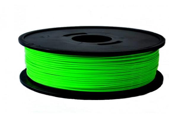 PLA Vert fluo 2.3kg 3D filament Arianeplast fabriqué en France