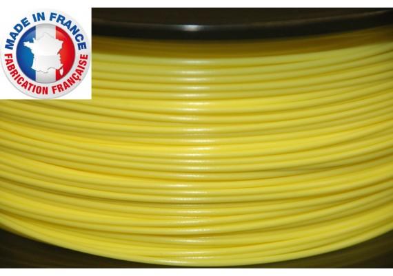 PLA jaune 4043D  3D filament  Arianeplast  fabriqué en France 1kg